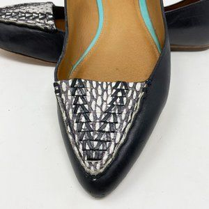Coach Shoes - Coach Pointed Toe Flats Graphic Black 8.5